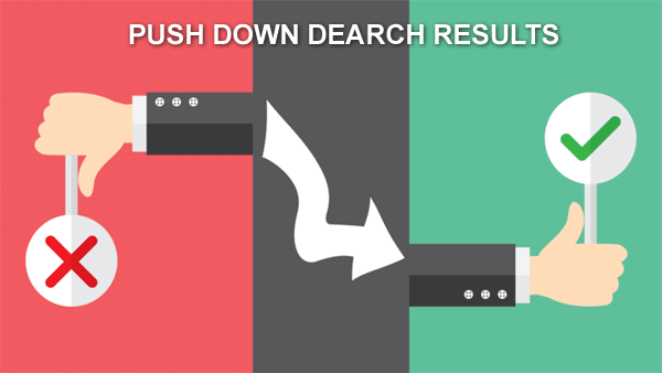 push down the negative results